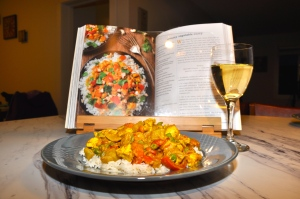 Creamy Vegetable Curry (plus chicken) from Oh She Glows :)